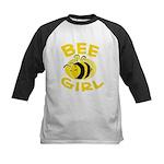 BEE Girl Kids Baseball Jersey