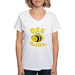 BEE Girl Women's V-Neck T-Shirt