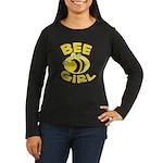 BEE Girl Women's Long Sleeve Dark T-Shirt