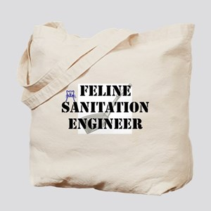 Feline Sanitation Engineer Tote Bag