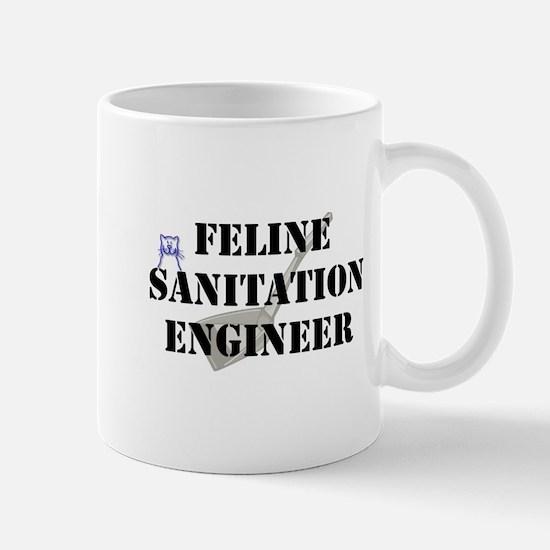 Feline Sanitation Engineer Mug
