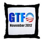 GTFO Throw Pillow