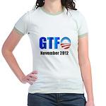 GTFO Jr. Ringer T-Shirt