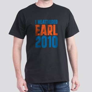 I Weathered Hurricane Earl Dark T-Shirt