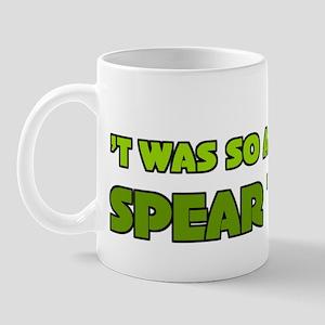 Irish Rugby Spear Tackle Humor Mug