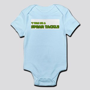 Irish Rugby Spear Tackle Humor Infant Creeper