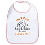 Halloween Scary Face Bib