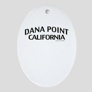Dana Point Ornament (Oval)
