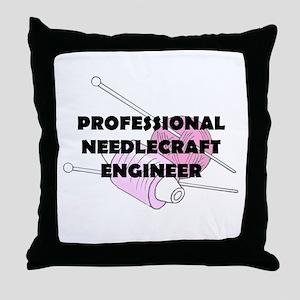 Professional Needlecraft Engi Throw Pillow