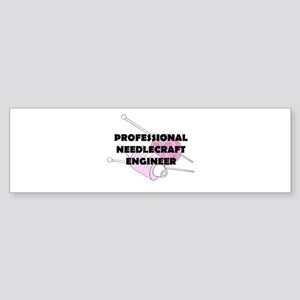 Professional Needlecraft Engi Sticker (Bumper)