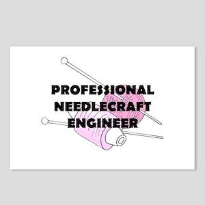 Professional Needlecraft Engi Postcards (Package o