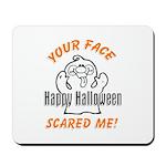 Halloween Scary Face Mousepad