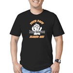 Halloween Scary Face Men's Fitted T-Shirt (dark)