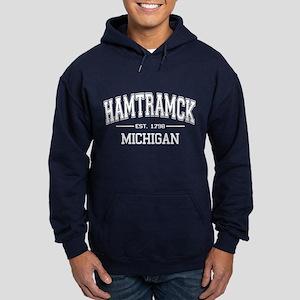 Hamtramck T-Shirt Hoodie (dark)