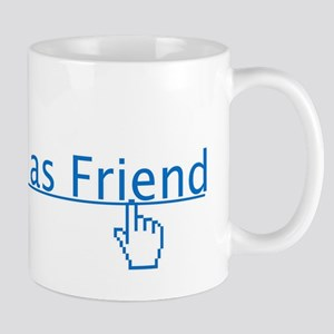 add as friend Mug