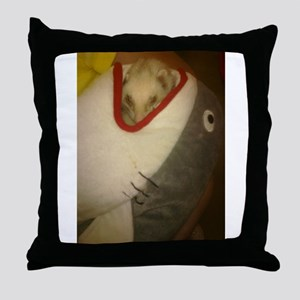Forest the Ferret Toys Throw Pillow