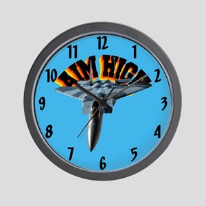 F15 Aim High Wall Clock