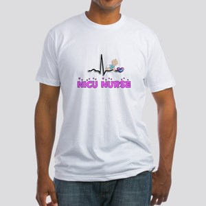 MORE NICU Nurse Fitted T-Shirt