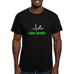 MORE NICU Nurse Men's Fitted T-Shirt (dark)
