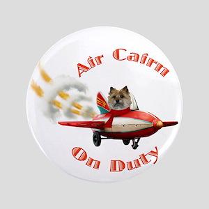 Air Cairn Terrier Button