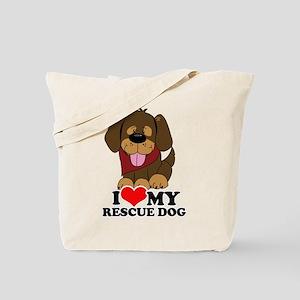 I love my Rescue Dog Tote Bag