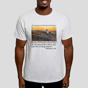 Jesus' Temptation Light T-Shirt