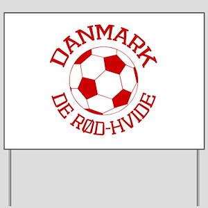 Danmark Rod-Hvide Yard Sign