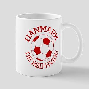 Danmark Rod-Hvide Mug
