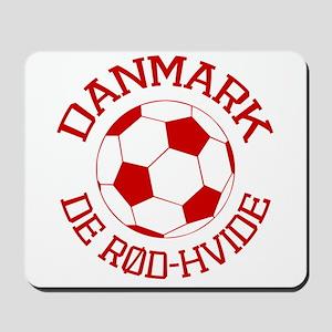 Danmark Rod-Hvide Mousepad