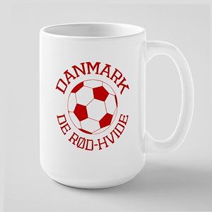 Danmark Rod-Hvide Large Mug