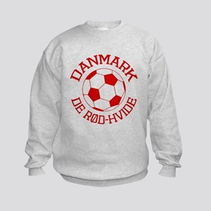 Danmark Rod-Hvide Kids Sweatshirt