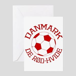 Danmark Rod-Hvide Greeting Card