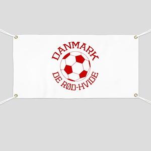 Danmark Rod-Hvide Banner