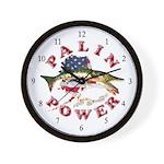 Palin Power Wall Clock