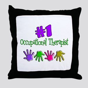 Physical Therapists II Throw Pillow