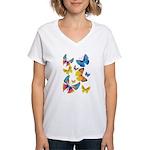 Funny Butterflies (V-Neck)