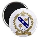 RIOUX Family Crest Magnet