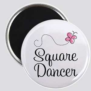 Cute Square Dancer Magnet