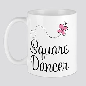 Cute Square Dancer Mug