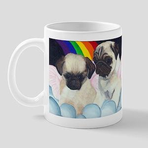 Pug Angels Mug