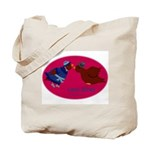 Love Birds Tote Bags