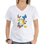 Funny Butterflies (V-Neck)