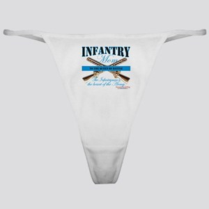 Infantry Mom IN Infantryman Classic Thong