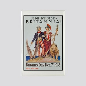 Britannia Friends Poster Art Rectangle Magnet