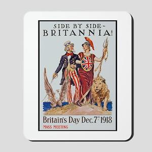 Britannia Friends Poster Art Mousepad