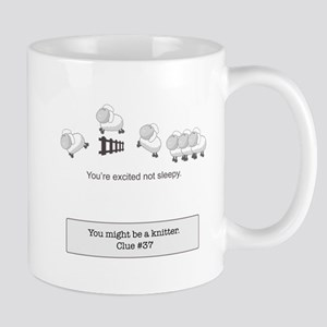 you cant count sheep Mugs