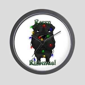 Shar-Pei Rerry Rithmus Wall Clock