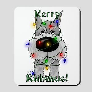 Schnauzer - Rerry Rithmus Mousepad