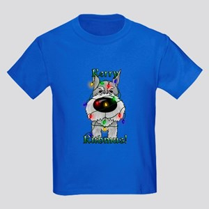 Schnauzer - Rerry Rithmus Kids Dark T-Shirt