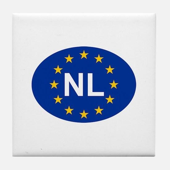 EU Netherlands Tile Coaster